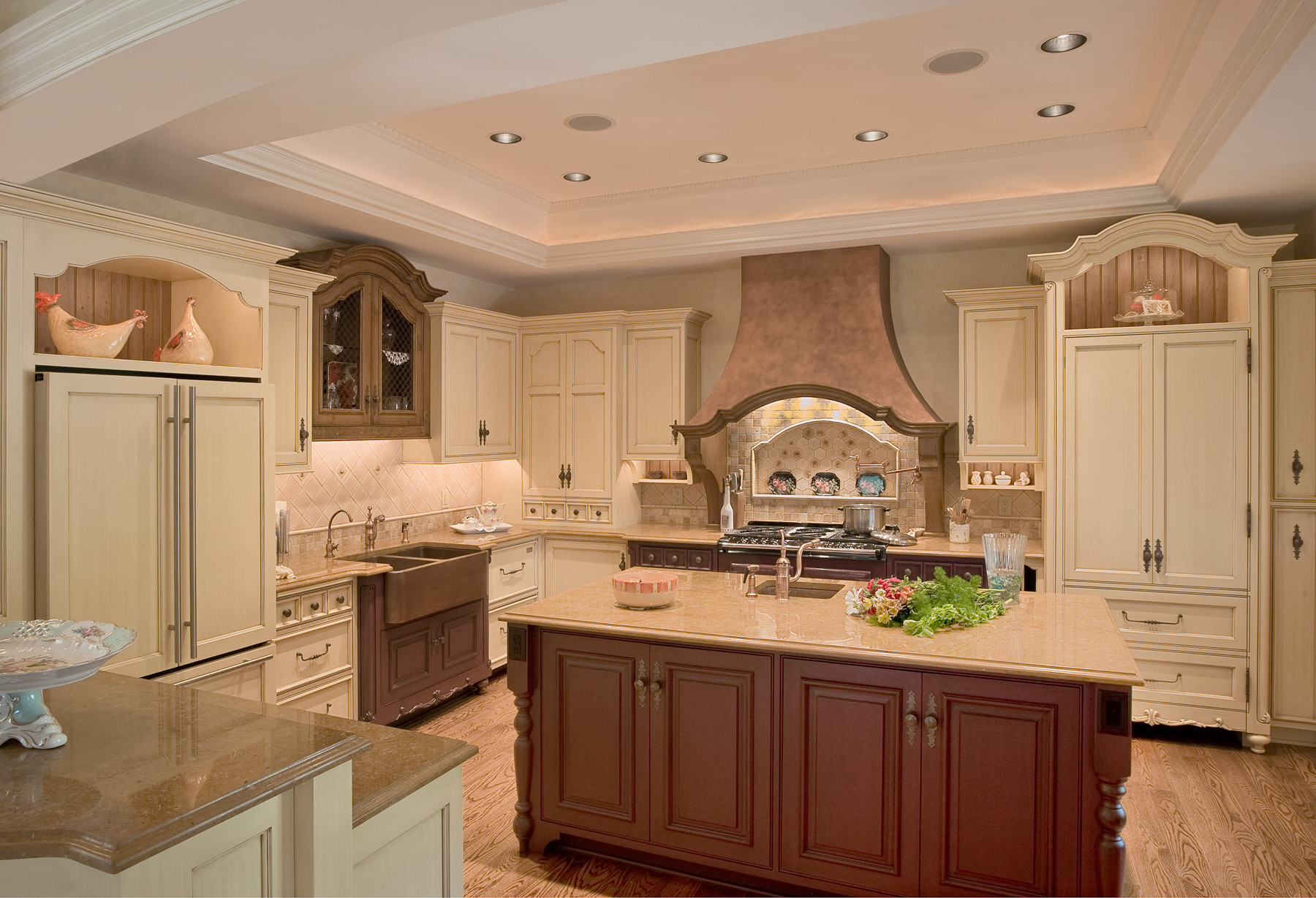 French Inspired Kitchen - Colonial Craft Kitchens