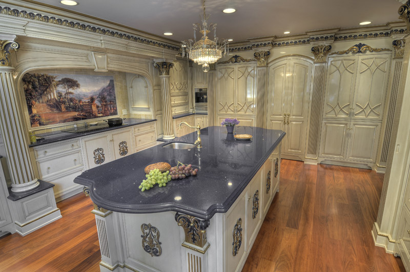 Baroque Inspired Kitchen Colonial Craft Kitchens