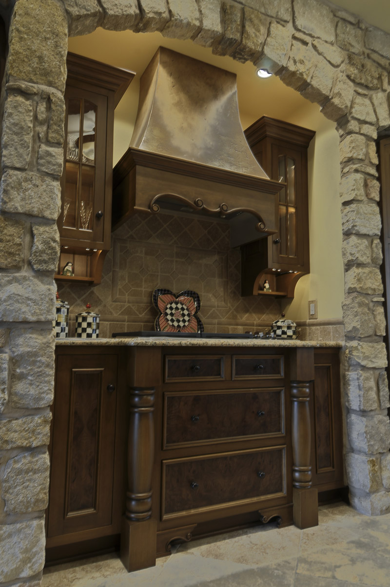terrific french colonial kitchen   Country French Kitchen - Colonial Craft Kitchens