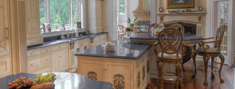 Baroque Inspired Kitchen
