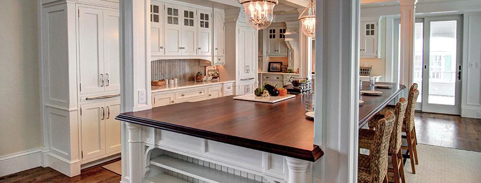 Oceanfront Estate Kitchen